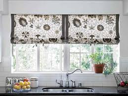 Kitchen Bay Window Curtain Ideas Kitchen Window Treatment Pinned From Ohsoshabby By Debbie Reynolds