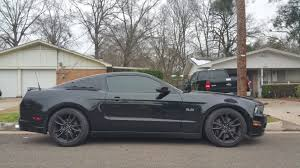 2014 Black Mustang My 2014 Black On Black 5 0 W Sr Performance Springs And Other