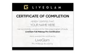 professional makeup artist certification benefits of online makeup classes liveglam pro academy