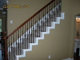 wrought iron balusters iron balusters for balconies and stair