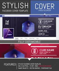 event club party facebook timeline cover template u2014 photoshop psd