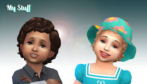 childs hairstyles sims 4 medium curly conversion for toddlers my stuff