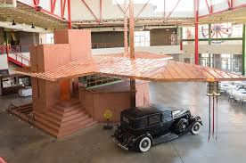 90 years later frank lloyd wright s fuel station finally built in