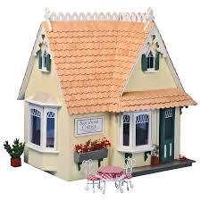 Storybook Cottage House Plans Greenleaf Storybook Cottage Dollhouse Kit 1 Inch Scale Walmart Com