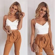 beach plus size women u0027s two piece pants holiday wear sleeveless