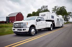 Ford Diesel Truck Horsepower - 2017 ford super duty overtakes ram 3500 as towing champ