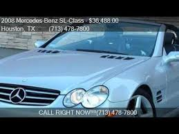 2008 mercedes sl55 amg for sale 2008 mercedes sl class sl55 amg for sale in houston tx