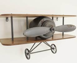 aeroplane shelf garden sculptures ornaments