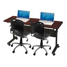 training chairs with tables balt two task chairs w one flipper seminar table 60 x 24
