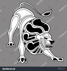 Astrology Sign Zodiac Signs Lion Astrology Sign Isolated Stock Vector 454815280