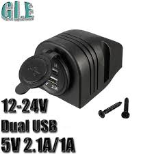 dual outlet light socket adapter auto car 12v cigarette lighter plug socket housing power adapter