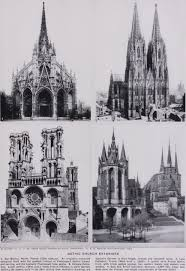 Parts Of A Cathedral Floor Plan by The Parts Of A Gothic Cathedral Graphic History Of Architecture By