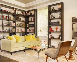 Dark Wood Bookshelves by Bookshelves Houzz