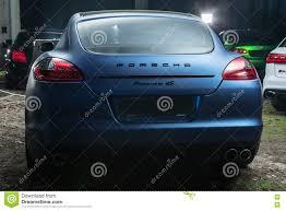 Porsche Panamera Back - porsche panamera 4s tuning editorial image image 81141340
