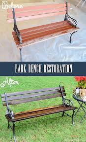 9 best park bench redo images on pinterest old benches park