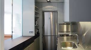 une cuisine fonctionnelle dans un petit espace