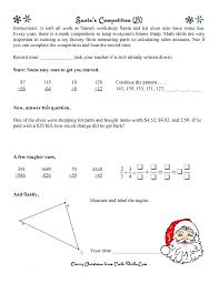 holiday math worksheets middle worksheets