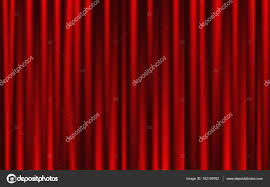 Theater Drape Theatrical Background Red Drape Curtains U2014 Stock Vector