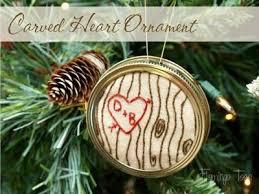 rustic winter wedding favors or newlywed diy ornament wedding