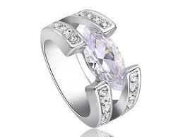 karikagyuru rak 3 karátos szintetikus gyémánt gyűrű 198