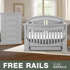 White Convertible Crib With Drawer Baby Appleseed 2 Nursery Set Chelmsford 3 In 1 Convertible