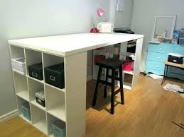 counter height craft table craft desk with storage craft tables and storage south shore