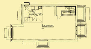 small cottage plans 3 bedrooms fits on a very narrow lot