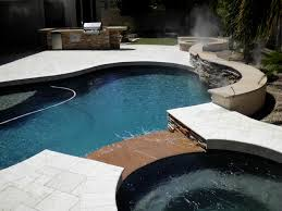 artistic landscape pavers backyard landscaping in arizona