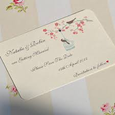 create your own save the date birds save the date cards by beautiful day