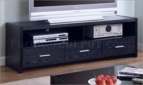 Black Tv Cabinet With Drawers 20 Collection Of Black Tv Stands With Drawers Tv Cabinet And