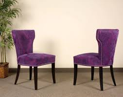 purple accent furniture violet faux leather contemporary living