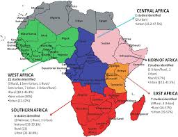 Map Of Egypt In Africa by Recent Advances In Hypertension In Sub Saharan Africa Heart