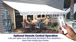 Motorized Awning Sunsetter Retractable Awning Models Retractable Screens