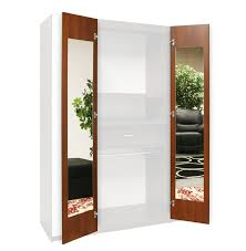 Closet With Mirror Doors Wardrobe Closet Mirrored Interior Door Mirrors 165 Degree