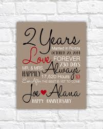 2 year anniversary gift ideas for him anniversary gift ideas for him creative with 2nd wedding