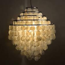 Seashell Light Fixture Modern Nordic Seashell Pendant Lights Fixture 5 Circles