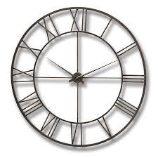 Decorative Metal Wall Clocks Metal Wall Clock Wall Art Design