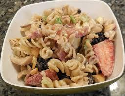 berries u0026 chicken pasta salad recipe quick cooking
