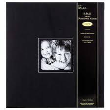photo album 8 5 x 11 black cloth 3 ring scrapbook album 8 1 2 x 11 hobby lobby