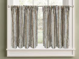 36 Kitchen Curtains by Colordrift Pine Stripe 36