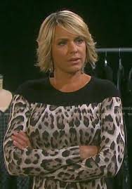 adrianne zucker new hairstyle 2015 nicole s leopard print long sleeve dress on days of our lives