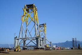 design of jacket structures saipem can oversee entire offshore projects with tekla tekla