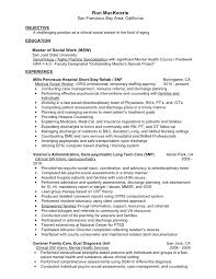 Clinical Resume Examples by Crafty Inspiration Resume For Social Worker 7 Sample Social Work