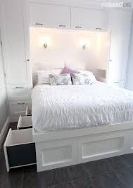 Ideas For Small Bedroom by Cheap Bedroom Storage Ideas Makrillarna Com