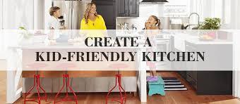 Friendly Kitchen Create A Kid Friendly Kitchen Kitchen Bath Trends