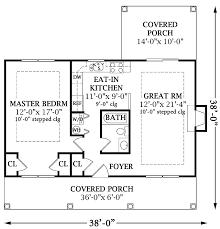 one bedroom cottage floor plans one bedroom home plans one bedroom open floor best cabin patio
