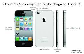 iphone 4s design iphone 5 4s mockup similar design to iphone 4 macrumors forums
