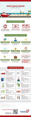 travel safety vacation safety tips infographic protection 1