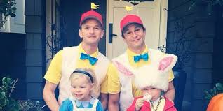 family halloween costumes 2014 neil patrick harris and family have utterly adorable halloween