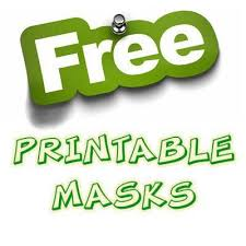 shop printable party masks simply party supplies affiliate